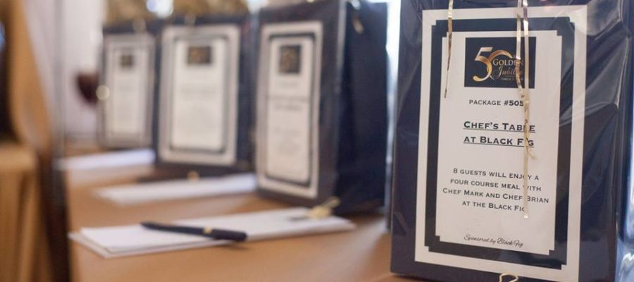 How many silent auction items at your next fundraising event?